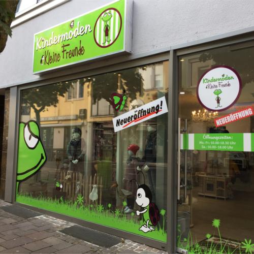 Neueröffnung Kindermoden Kleine Freunde Filiale Paderborn