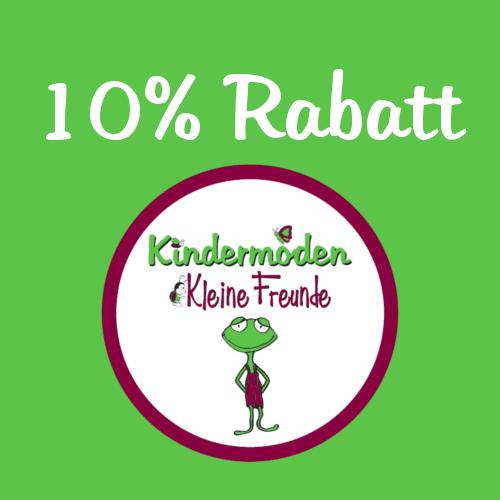 10% Rabatt Kindermoden Kleine Freunde
